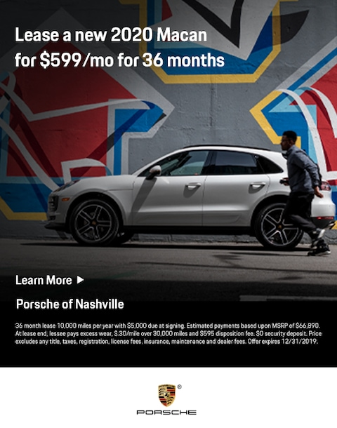 new 2019 porsche macan lease offer