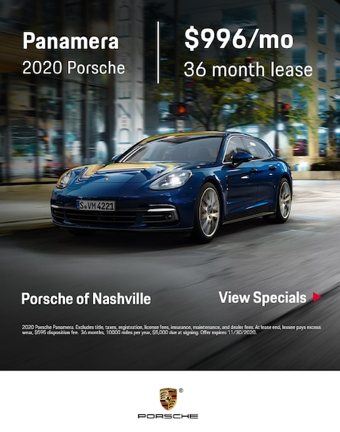 2020 Porsche Panamera Special