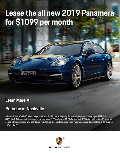 2019 Porsche Panamera Lease Specials