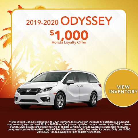 2019-2020 Odyssey