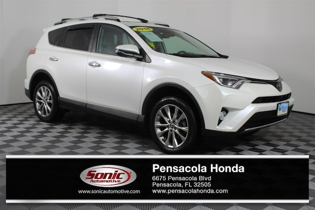 Used 2016 Toyota RAV4 Limited FWD 4dr  Natl SUV in Pensacola