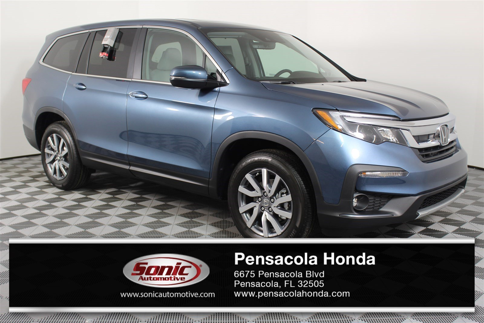 New 2019 Honda Pilot Ex L W Navi Res Awd For Sale In Pensacola Fl