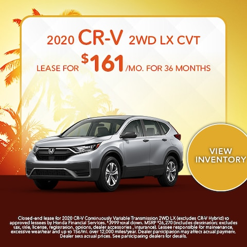 2020 CR-V 2WD LX CVT