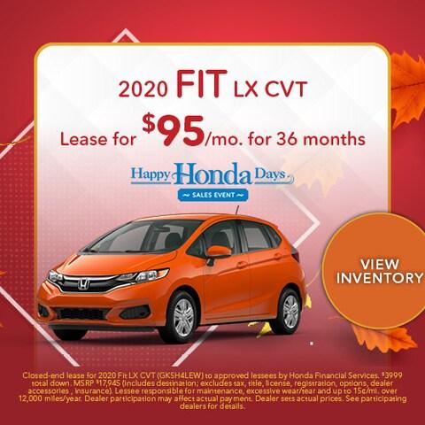 2020 Fit LX CVT