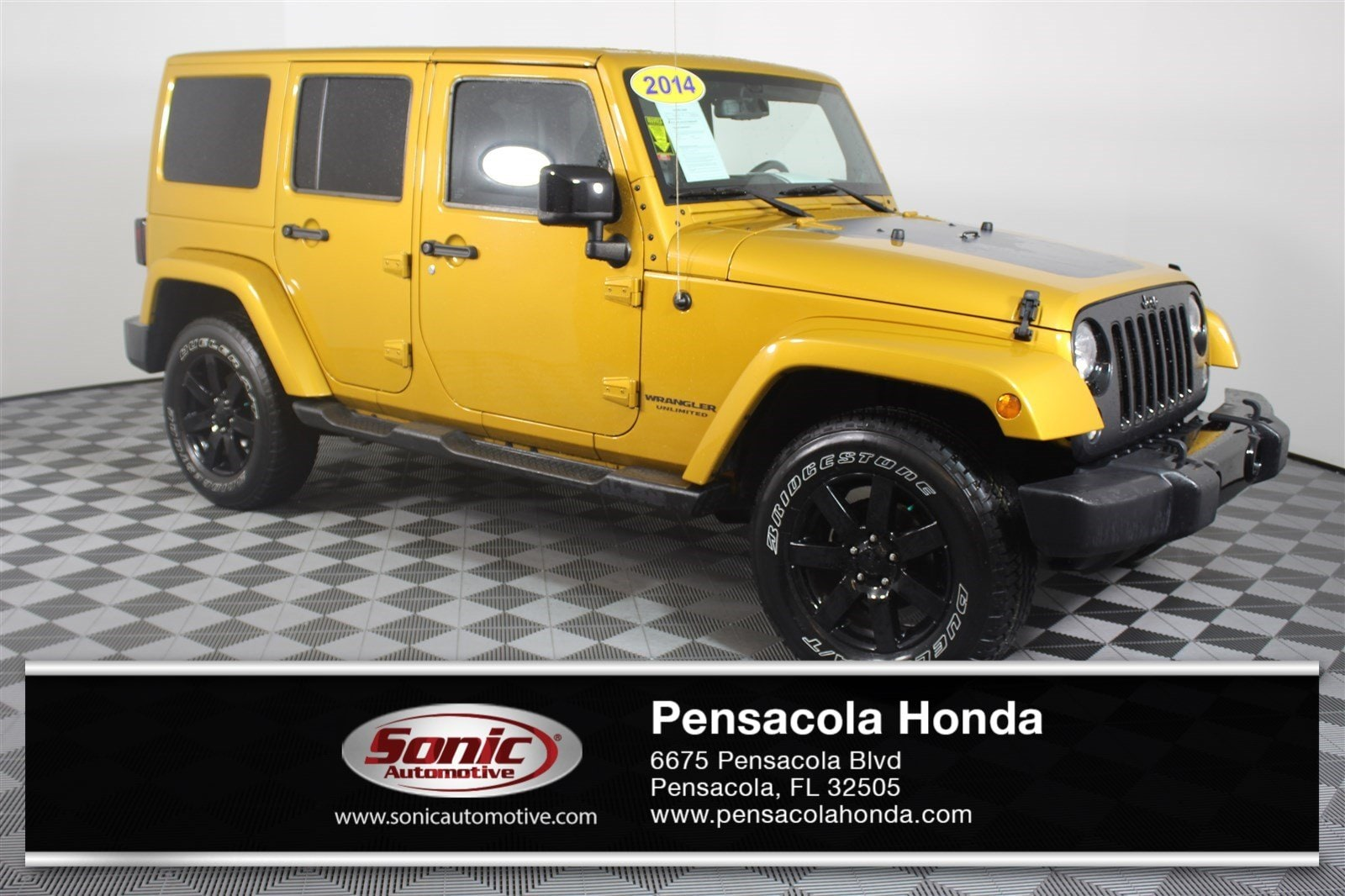 2014 Jeep Wrangler Unlimited Altitude 4WD 4dr SUV