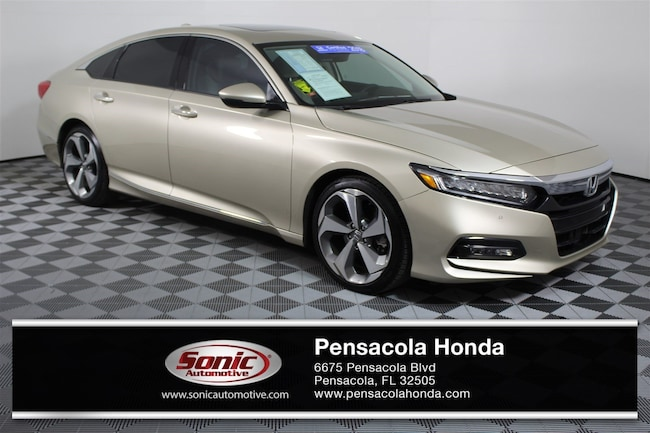 Certified Pre-Owned 2018 Honda Accord Touring 2.0T  Auto Sedan for sale in Pensacola, FL