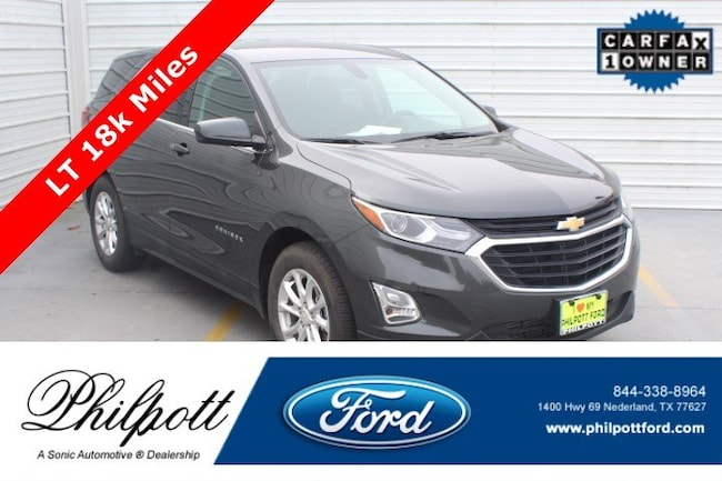 Used 2019 Chevrolet Equinox LT FWD 4dr  w/1 SUV for sale in Nederland, TX