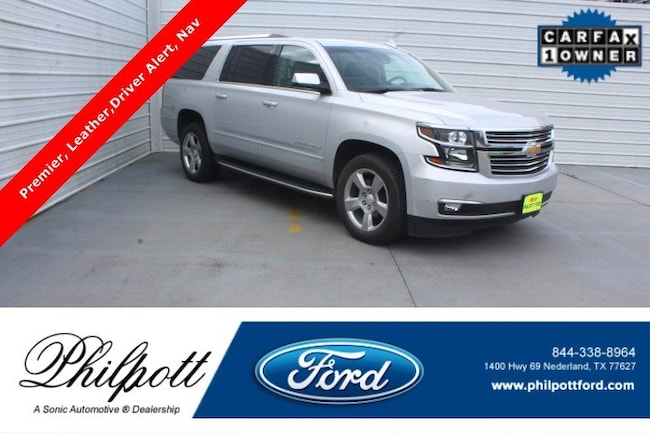 Used 2018 Chevrolet Suburban Premier 2WD 4dr 1500 SUV for sale in Nederland, TX
