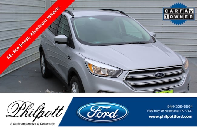 Used 2018 Ford Escape SE  FWD SUV for sale in Nederland, TX