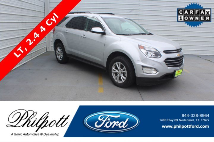 Used 2017 Chevrolet Equinox LT FWD 4dr  w/1 SUV for sale in Nederland, TX