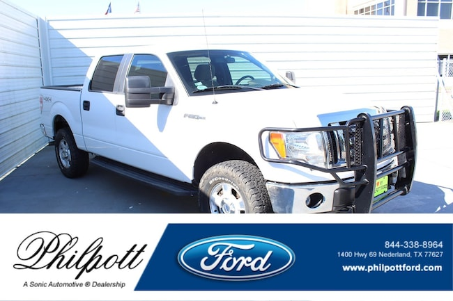 Used 2012 Ford F-150 XLT 4WD Supercrew 145 Truck SuperCrew Cab for sale in Nederland, TX