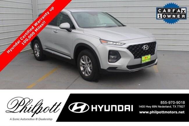 Certified 2019 Hyundai Santa Fe SE  2.4L Auto FWD SUV in Beaumont