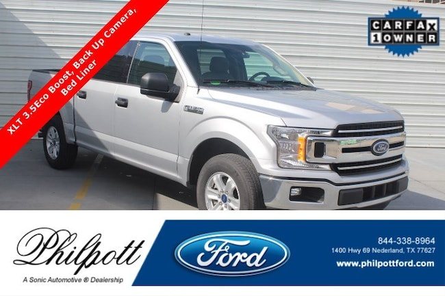 Used 2018 Ford F-150 XLT  2WD Supercrew 5.5 Box Truck SuperCrew Cab for sale in Nederland, TX