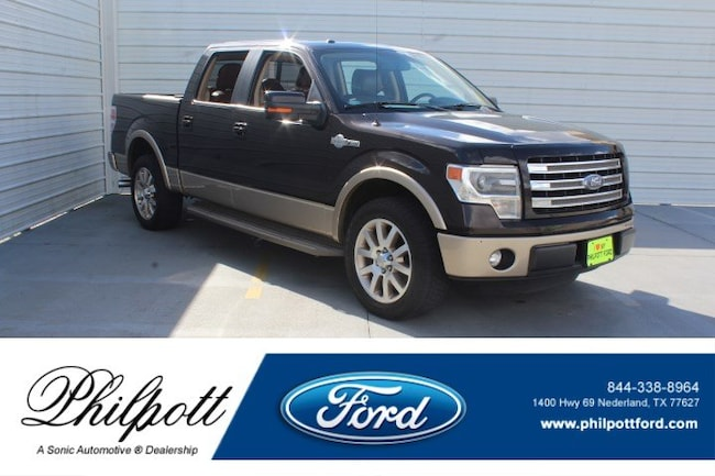 2014 Ford F-150 King Ranch 2WD Supercrew 145 Truck SuperCrew Cab