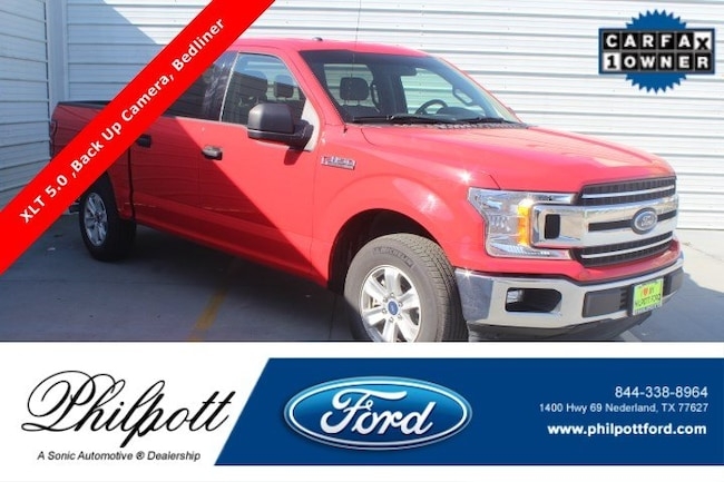 Used 2018 Ford F-150 XLT  2WD Supercrew 6.5 Box Truck SuperCrew Cab for sale in Nederland, TX