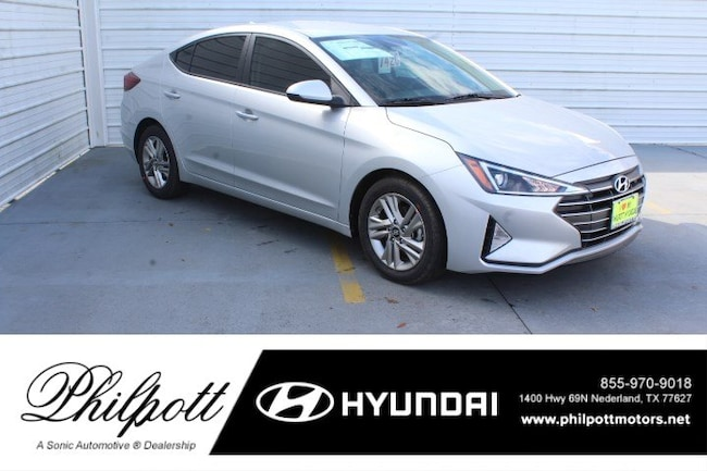 New 2019 Hyundai Elantra SEL Sedan for sale in Nederland, TX