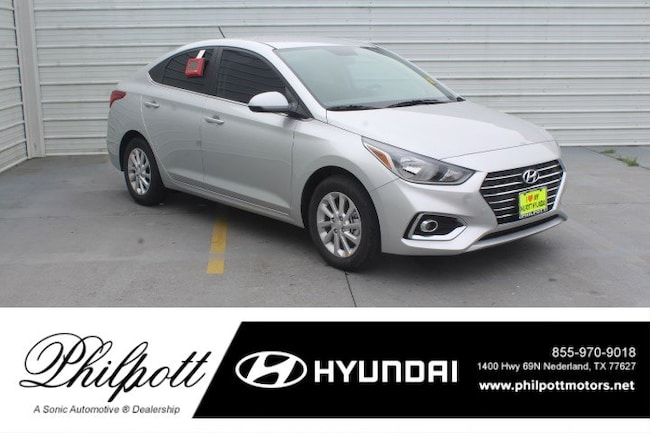 New 2019 Hyundai Accent SEL Sedan for sale in Nederland, TX