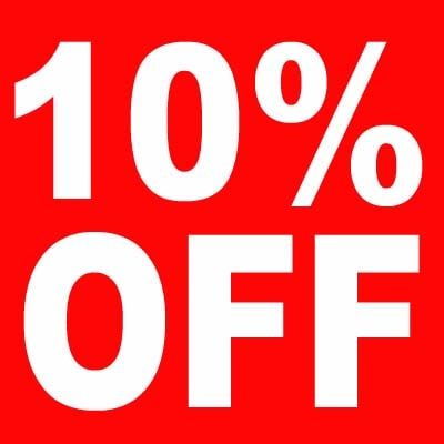 Save 10% Off ANY Part
