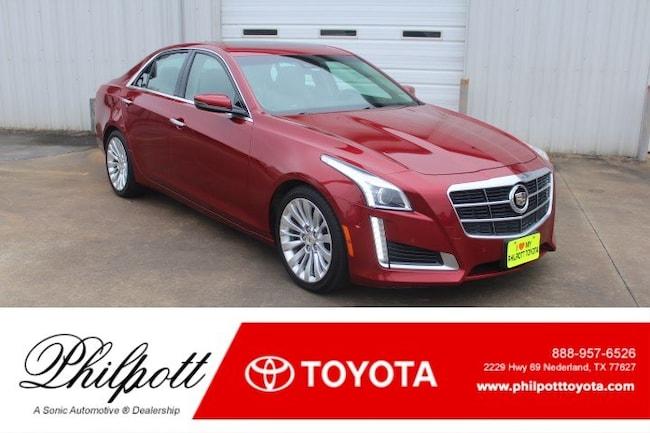 Used 2014 CADILLAC CTS Performance RWD 4dr Sdn 2.0L Turbo Sedan for sale in Nederland, TX