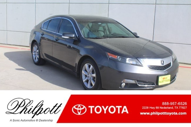 Used 2013 Acura TL Tech 4dr Sdn Auto 2WD Sedan for sale in Nederland, TX