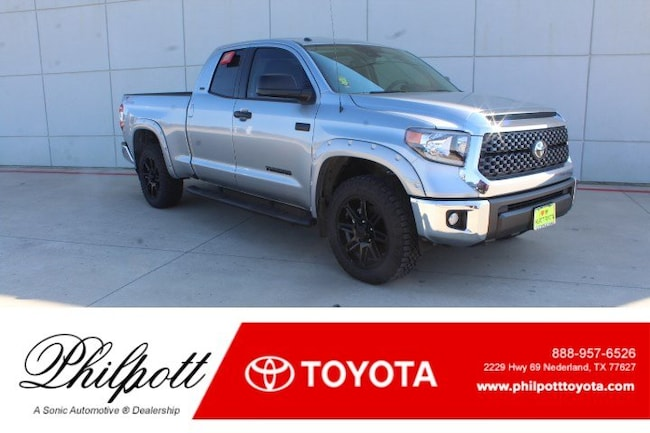New 2019 Toyota Tundra SR5 5.7L V8 w/FFV Special Edition Truck Double Cab in Nederland