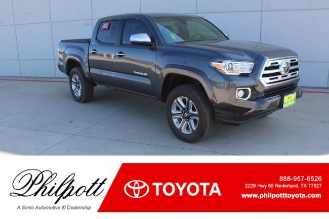 New 2019 Toyota Tacoma Limited V6 Truck Double Cab in Nederland