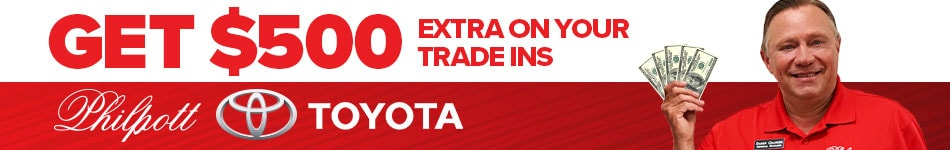 Get $500 extra on trade-ins