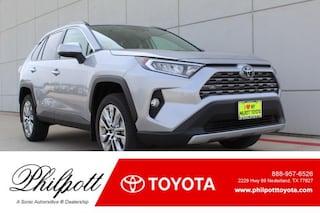 New 2019 Toyota RAV4 Limited SUV for sale in Nederland, TX