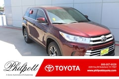 New 2019 Toyota Highlander LE V6 SUV in Nederland