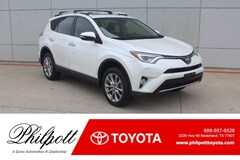 Used 2016 Toyota RAV4 Limited FWD 4dr  Natl SUV in Nederland, TX