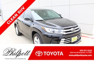 2017 Toyota Highlander Limited  V6 FWD Natl SUV