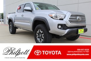 2017 Toyota Tacoma TRD Off Road  Double Cab 5 Bed V6 4x4 AT Natl Truck Double Cab