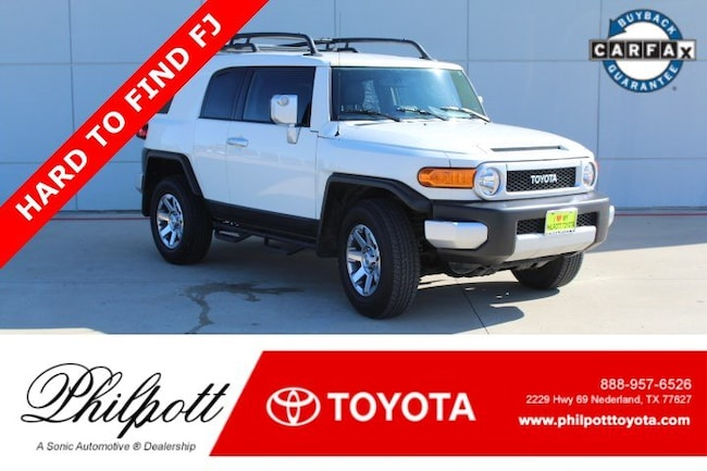 Certified 2014 Toyota FJ Cruiser 4WD 4dr Auto Natl SUV in Beaumont