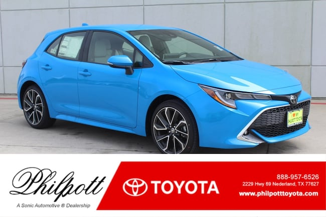 New 2019 Toyota Corolla Hatchback XSE Hatchback in Nederland