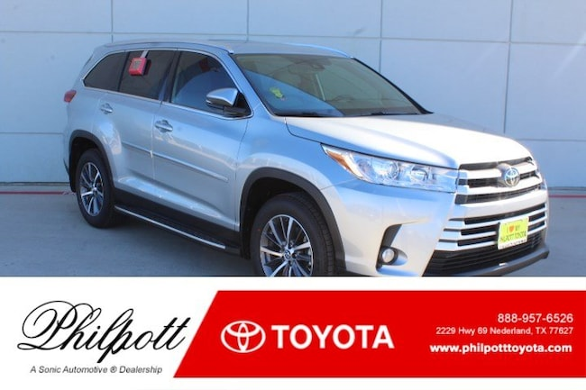 New 2019 Toyota Highlander XLE V6 SUV in Nederland