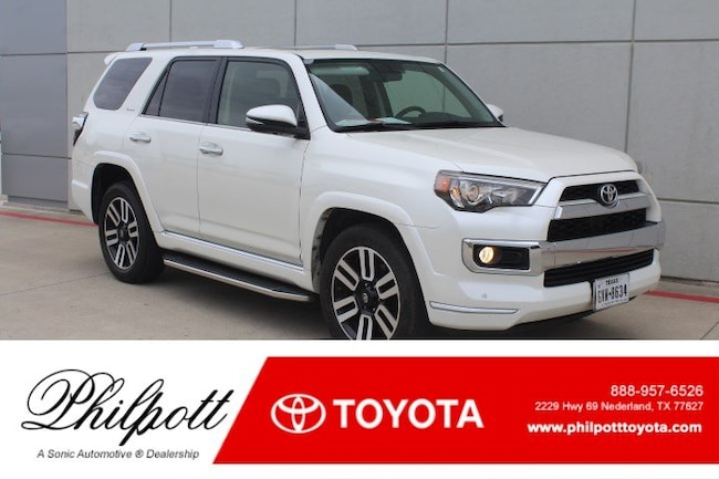 Certified 2016 Toyota 4Runner Limited RWD 4dr V6  Natl SUV in Beaumont