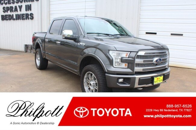 2015 Ford F-150 Platinum 4WD Supercrew 145 Truck SuperCrew Cab