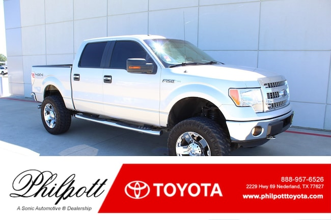 Used 2013 Ford F-150 XLT 4WD Supercrew 145 Truck SuperCrew Cab for sale in Nederland, TX