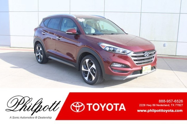 Used 2016 Hyundai Tucson Limited FWD 4dr SUV in Beaumont
