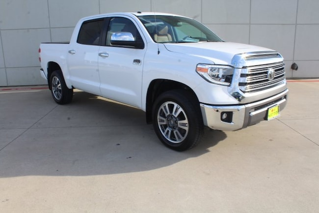Used 2019 Toyota Tundra 1794 Edition  Crewmax 5.5 Bed 5.7L Natl Truck CrewMax in Nederland