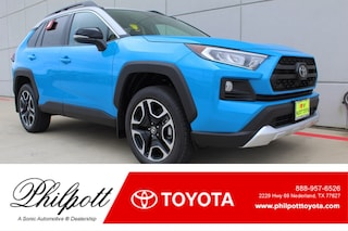 New 2019 Toyota RAV4 Adventure SUV for sale in Nederland, TX
