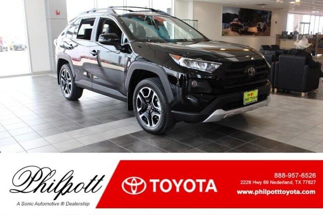 New 2019 Toyota RAV4 Adventure SUV in Nederland
