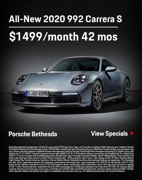 922 (911 Carerra) Porsche Lease Special