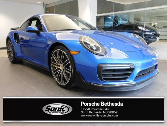 New 2018 Porsche 911 Turbo S  Coupe Coupe for sale in Rockville, MD