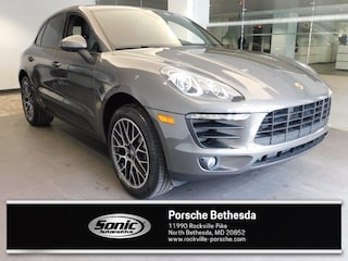 New 2018 Porsche Macan AWD SUV for sale in North Bethesda, MD