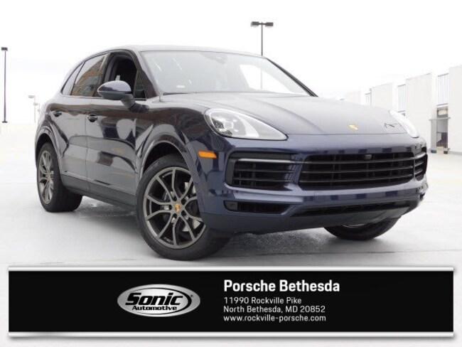 New 2019 Porsche Cayenne SUV for sale in Rockville, MD
