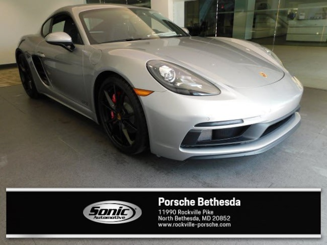 New 2018 Porsche 718 Cayman GTS Coupe for sale in Rockville, MD