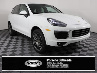 Used 2017 Porsche Cayenne Platinum Edition  AWD SUV for sale in North Bethesda, MD