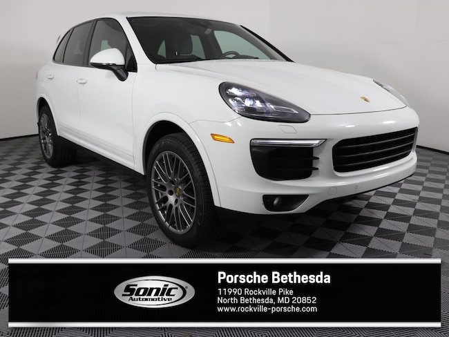 Used 2017 Porsche Cayenne Platinum Edition  AWD SUV for sale in Rockville, MD