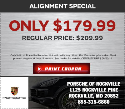 Used Car Specials in Bethesda | Porsche Bethesda